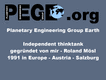 Think-tank since 1991 Key note from PEGE at the 1st world emerging industries summit September 1st 2010 in Changchun China. Page 02 from 22. PDF