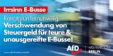 AfD Berlin gegen Elektrobusse