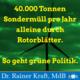 Rainer Kraft und die Rortorblätter